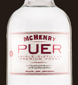 McHenry and Sons - Puer Tripled Distilled Premium Vodka