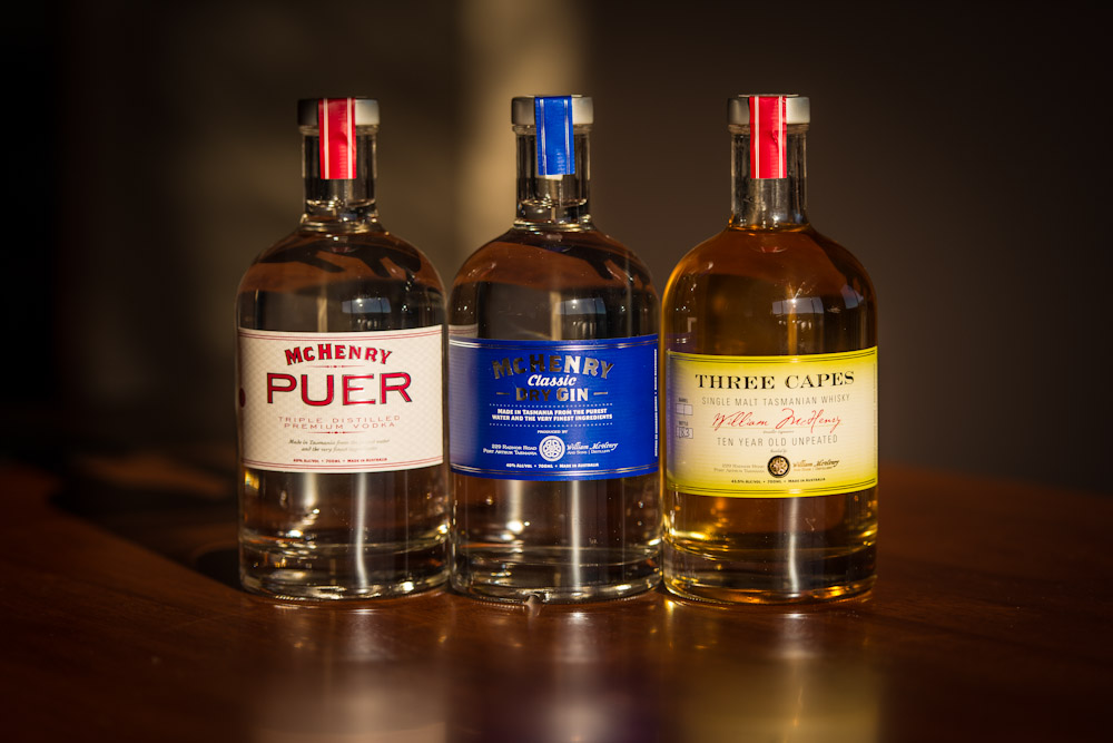 McHenry and Sons Distillery products