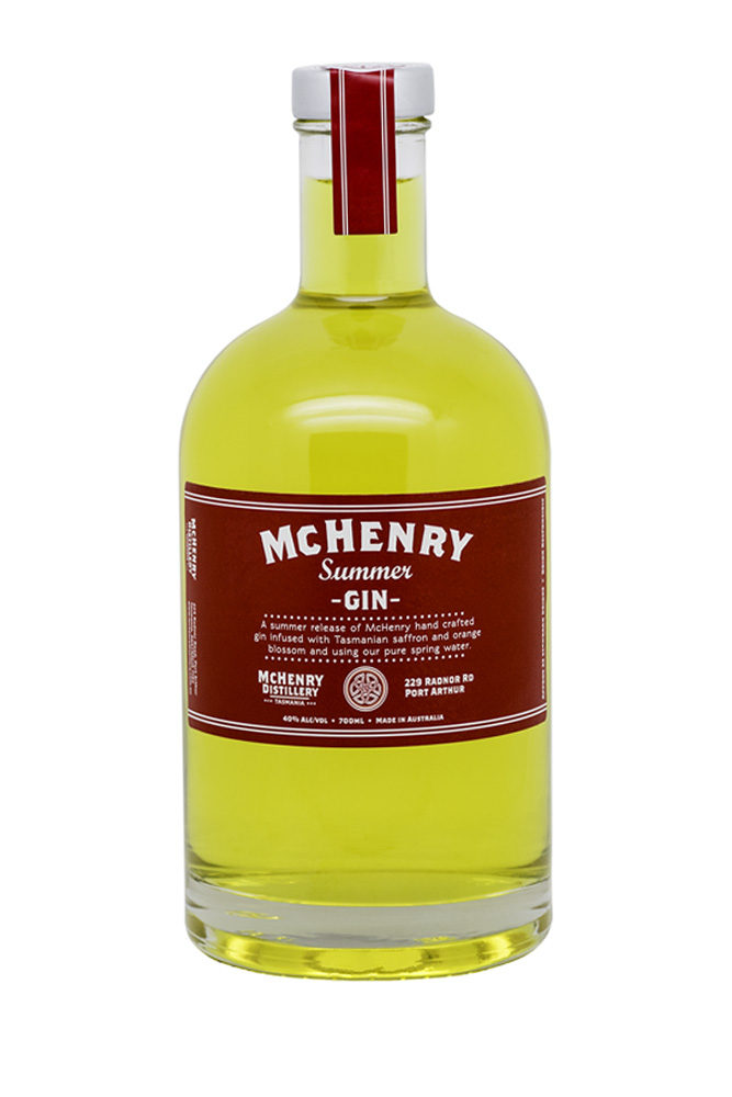 700ml McHenry Summer Gin